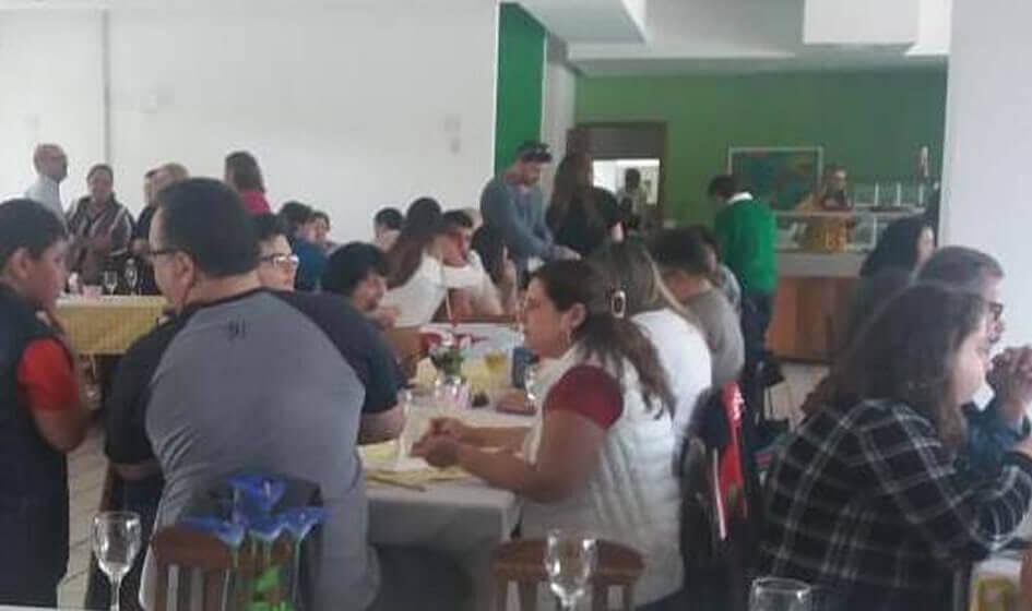Almoço dia dos pais